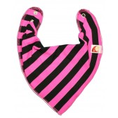 Pink & Black Stripe