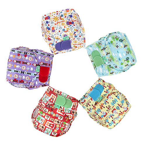 Tots Bots Easyfit all in one cloth nappy